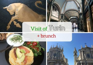 Visit of Turin + brunch