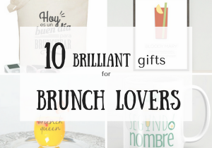 Brilliant gifts for brunch lovers